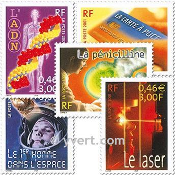 n.o 3422/3426 -  Sello Francia Correos