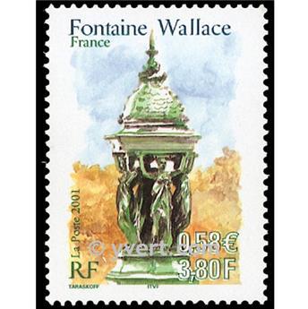n.o 3442 -  Sello Francia Correos