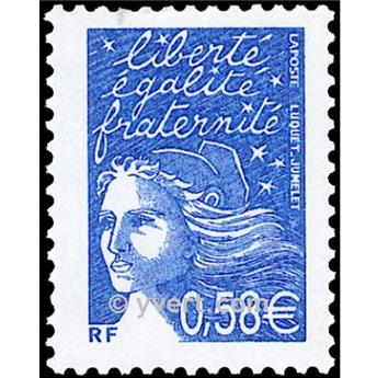 n.o 3451 -  Sello Francia Correos