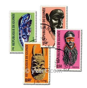 MÁSCARAS: lote de 100 selos