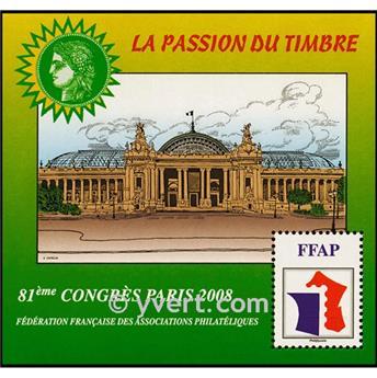 n.o 2 -  Sello Francia Federación Francesa de Asociaciones Filatélicas (FFAP)