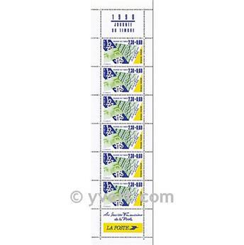 n° BC2640A -  Timbre France Carnets Journée du Timbre