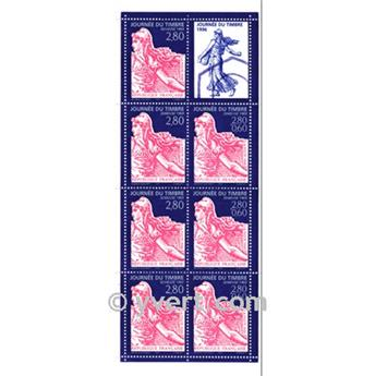 n° BC2992 -  Timbre France Carnets Journée du Timbre