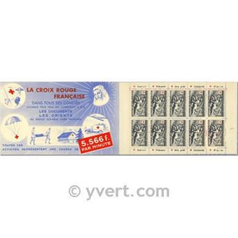 n° 2001 -  Selo França Carnets Cruz Vermelha