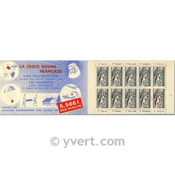 n° 2001 -  Timbre France Carnets Croix Rouge (1952)