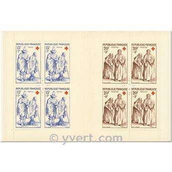 n° 2006 -  Selo França Carnets Cruz Vermelha