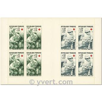 n° 2015 -  Selo França Carnets Cruz Vermelha
