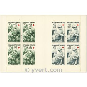 nr. 2015 -  Stamp France Red Cross Booklet Panes