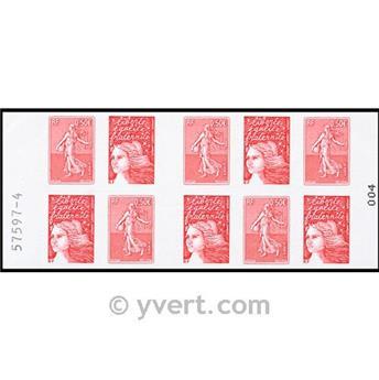 n° 1511 -  Selo França Carnets Diversos