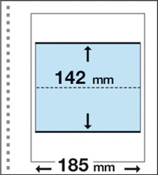 Recharges CK4 : 1 poche (142x185mm)