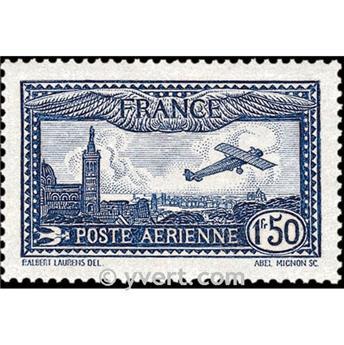 n.o 6 -  Sello Francia Correo aéreo