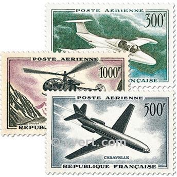 n° 35/37 -  Timbre France Poste aérienne