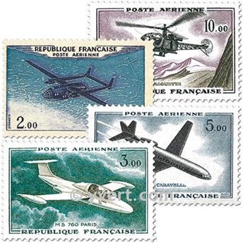 n° 38/41 -  Selo França Correio aéreo