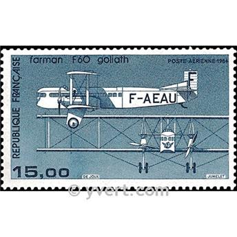 n° 57 -  Selo França Correio aéreo