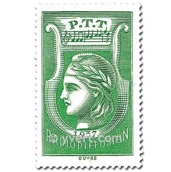 nr. 3 -  Stamp France Radio Revenue stamp