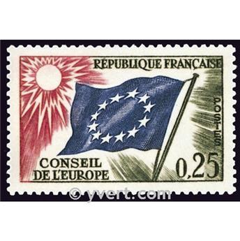 n° 28 -  Timbre France De service