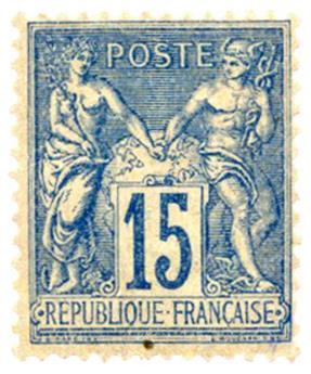 n° 53 -  Selo França Pré-obliterados