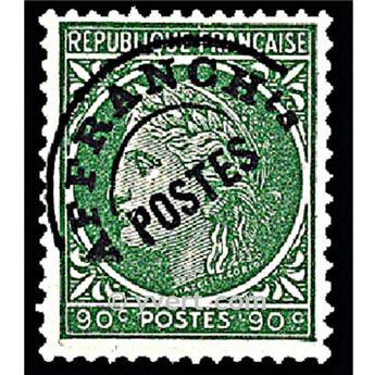 n° 89 -  Timbre France Préoblitérés