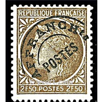 n° 93 -  Selo França Pré-obliterados