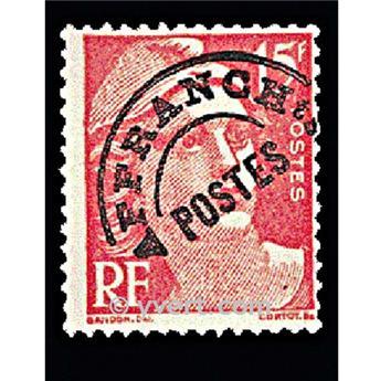 n° 104 -  Timbre France Préoblitérés