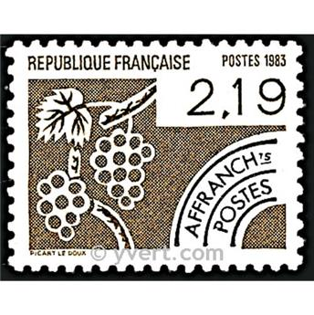 n° 180 -  Selo França Pré-obliterados