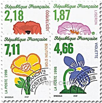 n° 240/243 -  Selo França Pré-obliterados
