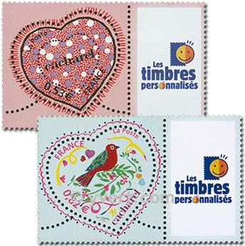 nr. 3747A/3748A -  Stamp France Personalized Stamp