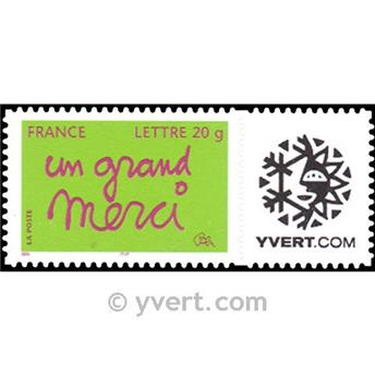 nr. 3761B -  Stamp France Personalized Stamp