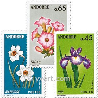n° 234/236 -  Selo Andorra Correios