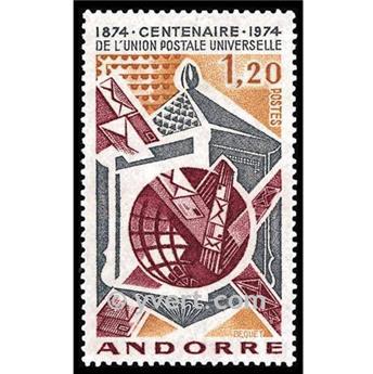 n° 242 -  Selo Andorra Correios