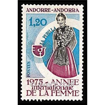 n° 250 -  Selo Andorra Correios