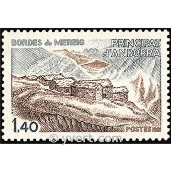 nr. 291 -  Stamp Andorra Mail