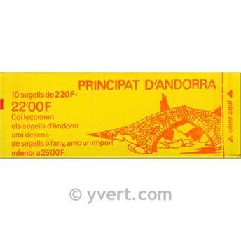 nr. 2 -  Stamp Andorra Booklets