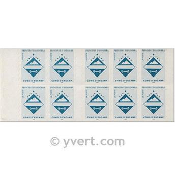 nr. 7 -  Stamp Andorra Booklets