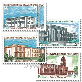 nr. 343/346 -  Stamp Afars and Issas Mail
