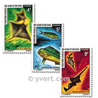 n° 372/374 -  Timbre Afars et Issas Poste