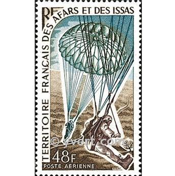 n° 57 -  Timbre Afars et Issas Poste aérienne