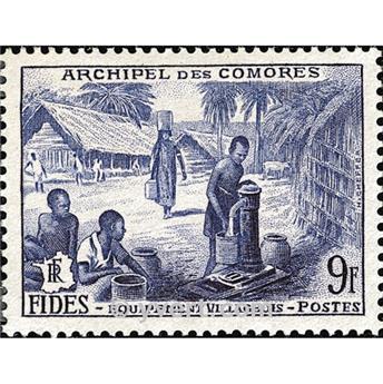 n° 14 -  Timbre Comores Poste