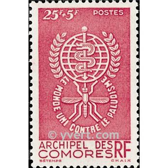n° 25 -  Selo Comores Correios