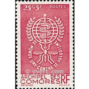 n° 25 -  Timbre Comores Poste