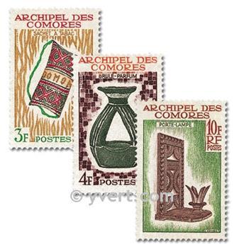 n° 29/31 -  Timbre Comores Poste