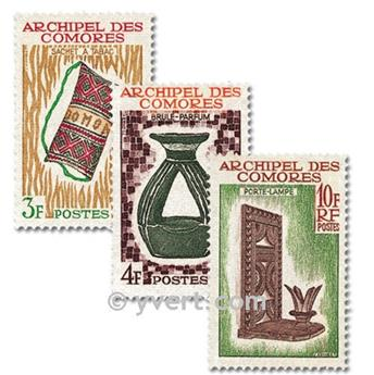 nr. 29/31 -  Stamp Comoro Island Mail