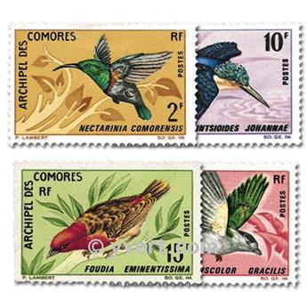 n° 41/44 -  Selo Comores Correios