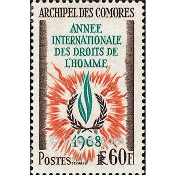 n.o 49 -  Sello Comoras Correos