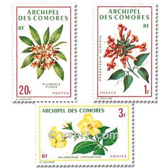 n° 69/71 -  Selo Comores Correios