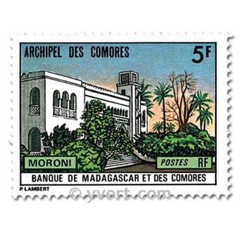 n° 84/86 -  Selo Comores Correios