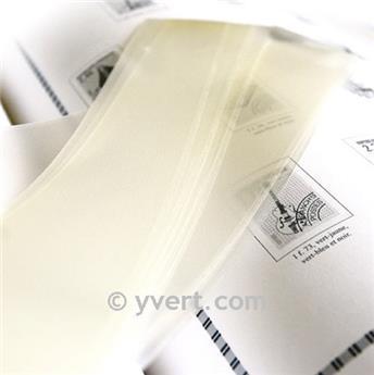 Tiras soldura simples -  31 mm (Fundo transparente)