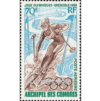 n° 22 -  Selo Comores Correio aéreo