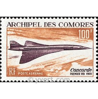n° 29 -  Selo Comores Correio aéreo