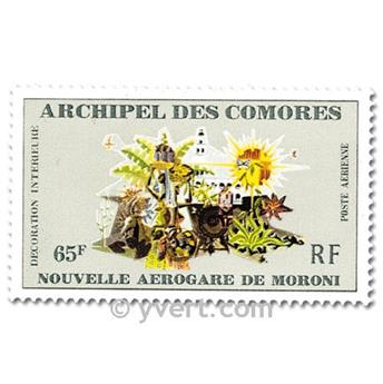 n° 39/41 -  Selo Comores Correio aéreo